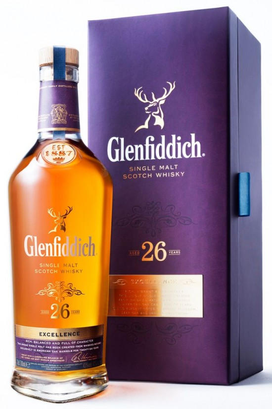 Whisky Glenfiddich Excellence 26 anos 700 ml