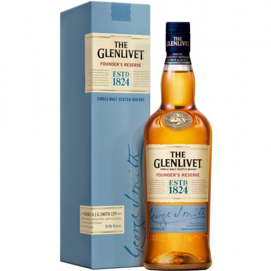 Whisky The Glenlivet Founder Single Malt 750ml